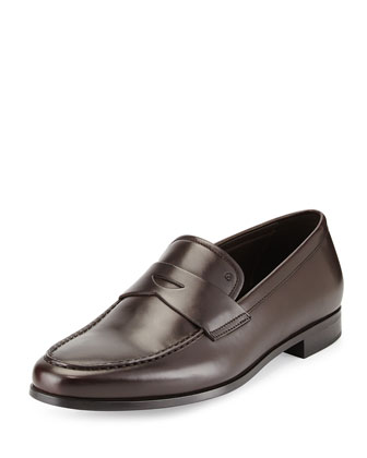 Leather Slip-On Loafer