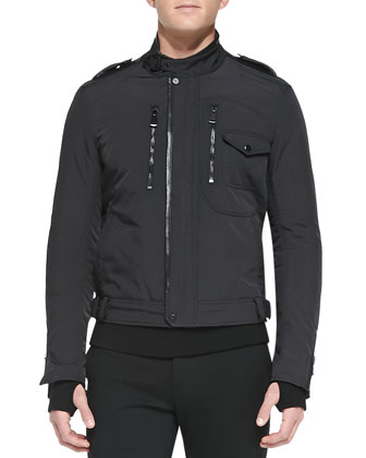 Tech Moto Jacket, Black