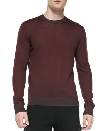 Lightweight Wool Pullover Sweater