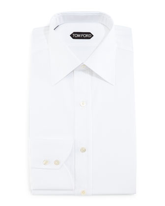 Slim-Fit Dress Shirt, White