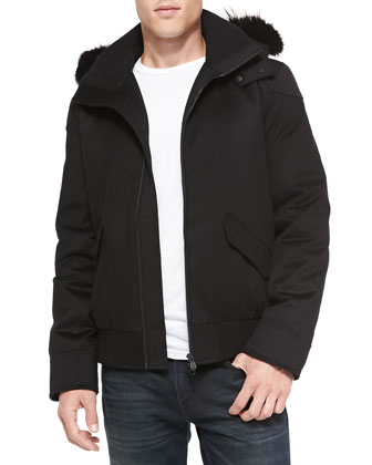 Rovigo Bomber Jacket, Black
