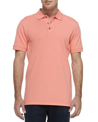Numero Polo Shirt, Orange