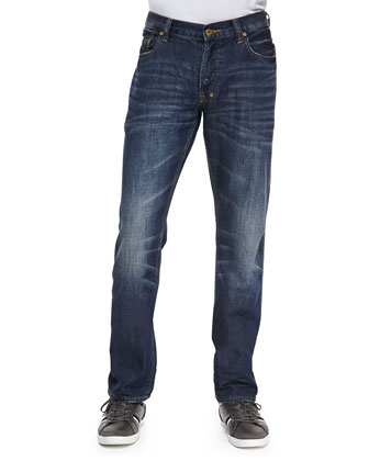 Barracuda Medium Blue Denim Jeans