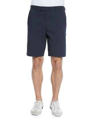 Zaine S E Ravenel Seersucker Shorts