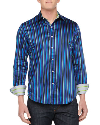 Winston Striped Sport Shirt