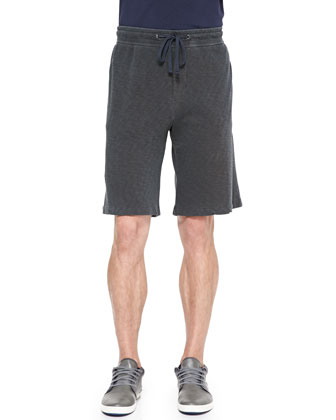 Classic French-Terry Shorts, Charcoal