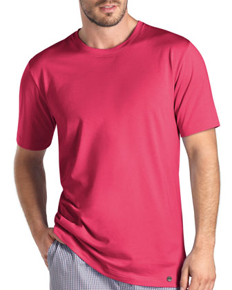 Night & Day Short-Sleeve Shirt, Pink
