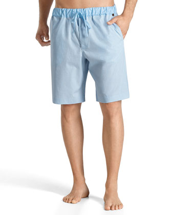 Night & Day Lounge Shorts, Light Blue