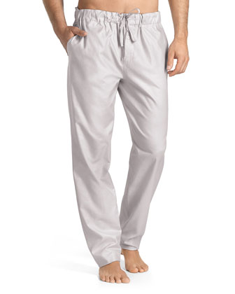 Sorrento Lounge Pants, Light Gray