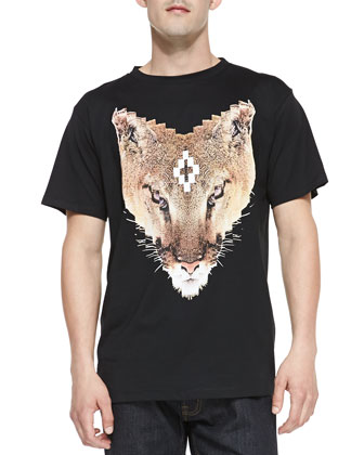 Bobcat-Graphic Jersey Tee, Black