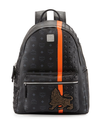 Munich Logo Backpack, Black