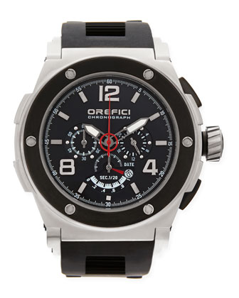 Regata Yachting Edition Watch, Stainless Steel/Black