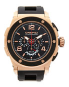 Regatta Yachting Edition Watch, Rose Gold/Black