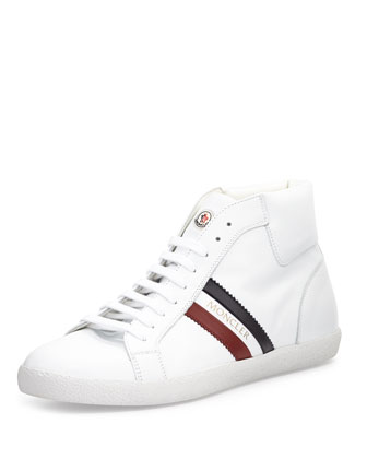 Montecarlo High-Top Sneaker, White