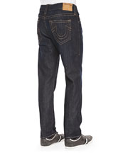 Dean Wanted Man Dark Denim Jeans