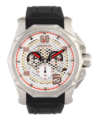 E.J. Viso Limited Edition Watch, Stainless Steel/Black