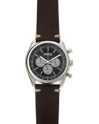 Vintage 42mm Chronograph Watch