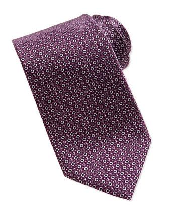 Printed Micro-Diamond Tie