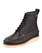 Sherman 1955 Leather Boot, Black
