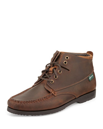 Warren 1955 Moc Toe Ankle Boot, British Tan