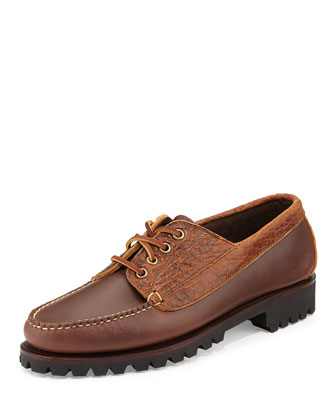 Abbot USA Leather Camp Moc Shoe