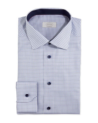 Graph-Check Dress Shirt