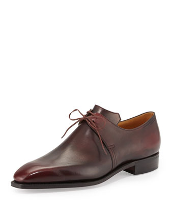 Arca Derby Shoe, Dark Burgundy