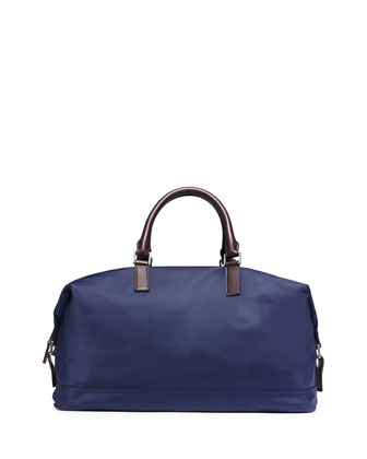 Convertible Nylon Duffel Bag, Indigo