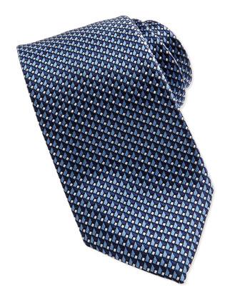 Basket Dot Micro Tie