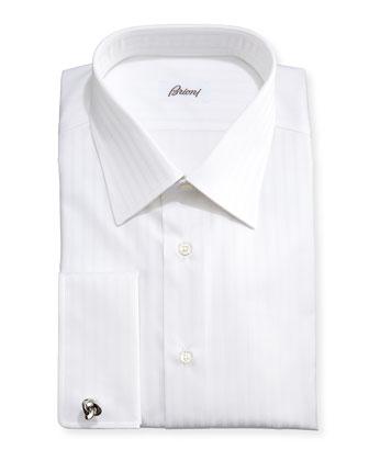 Triple-Track French-Cuff Shirt