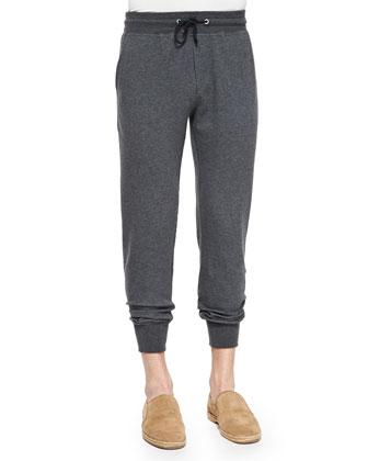 Nylon Zip-Down Vest, Spa Crewneck Knit Sweater & Cotton-Blend Knit Spa ...