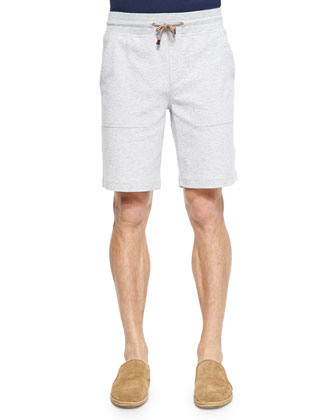Spa Button-Front Cardigan, Cotton Crewneck Tee Shirt & Cotton-Blend Spa ...