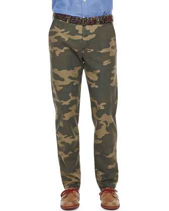 Carrot-Fit Camo Pants