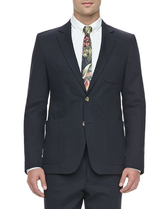 Two-Button Pocket Blazer