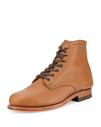 Centennial 1000 Mile Bison Boots, Tan