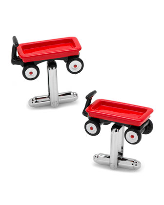 Red Wagon Cufflinks