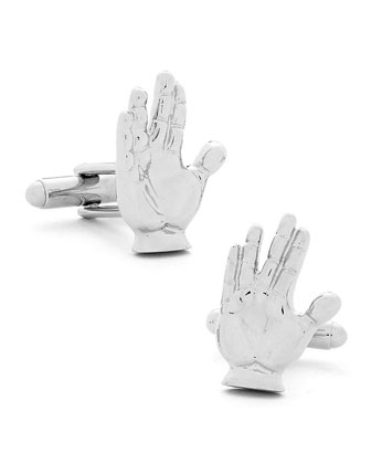 Live Long and Prosper Cuff Links