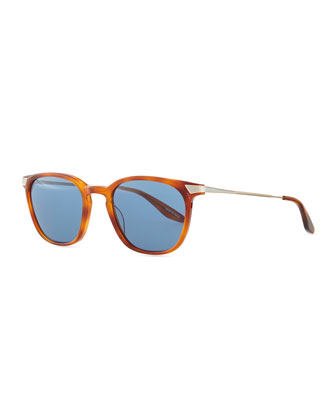 Dean Rectangular Sunglasses, Orange