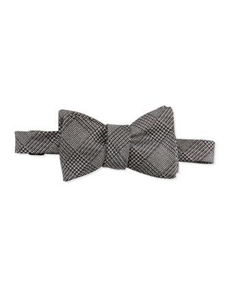 Glitter Glen Plaid Bow Tie
