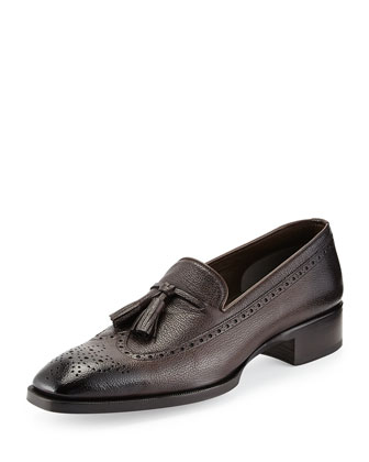 Gianni Tassel Wing-Tip Loafer
