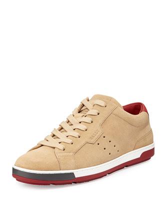 Ainor Suede Sneaker, Tan