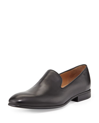 Lancel Slip-On Loafer, Black