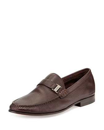 Didi Deerskin Moc Loafer, Oxblood