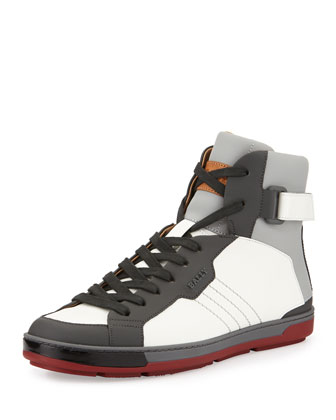 Aikane Coated High-Top Sneaker