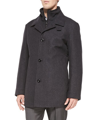 Mid-Length Coxtan Coat