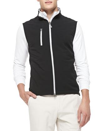 Seville Flat Vest, Black