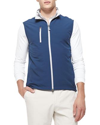 Seville Flat Vest, Navy