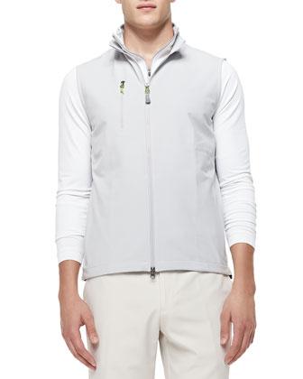Seville Flat Vest, Gray