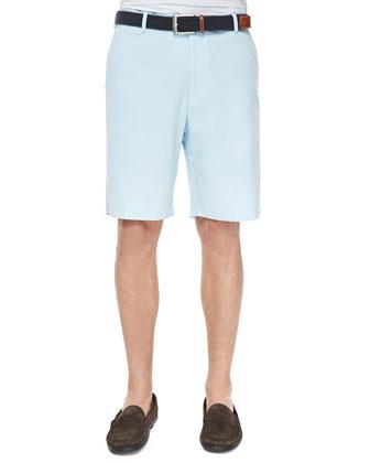Woven Pincord Shorts, Light Blue