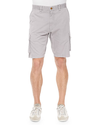 Globetrotter Cargo Shorts, Gray